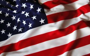 American Flag - made in the USA dog fence products